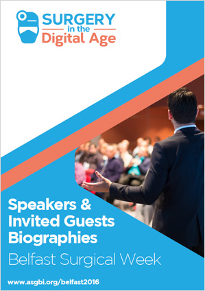 ASGBI 2016 Speakers and Invited Guests Biographies Booklet